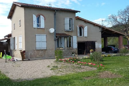 Detached country house (45 mn from Toulouse) - Villemur-sur-Tarn - 独立屋