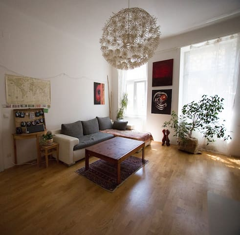 50m2 Cozy Flat (20Minutes to the Center)