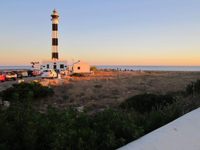 Casa Rustica Menorquina cerca de faro y el mar