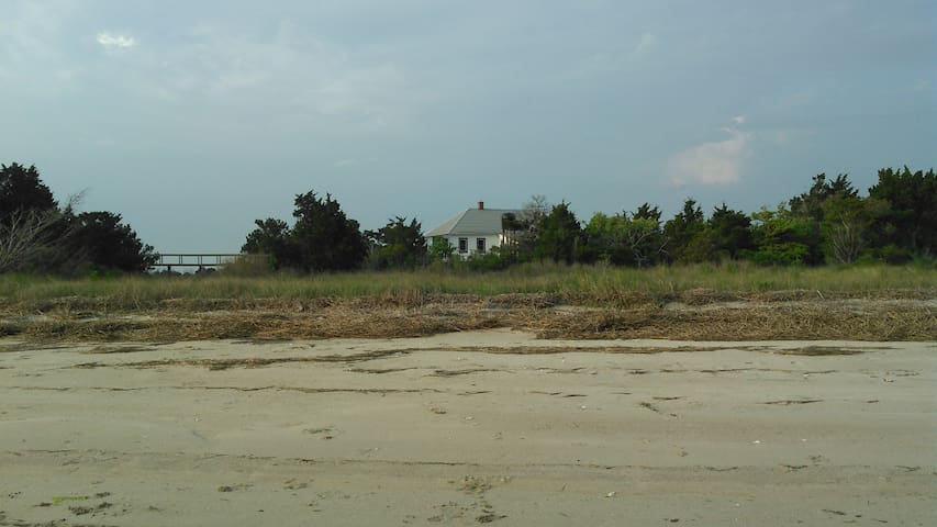 Large Cabin on Private Island on the Eastern Shore - Cape Charles - Srub
