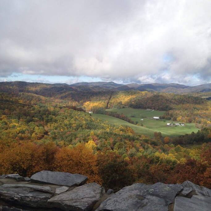 Nearby Scenic Overlook