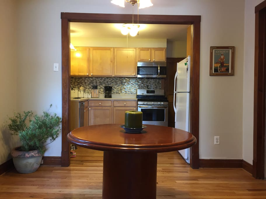Freshly refinished floors throughout!