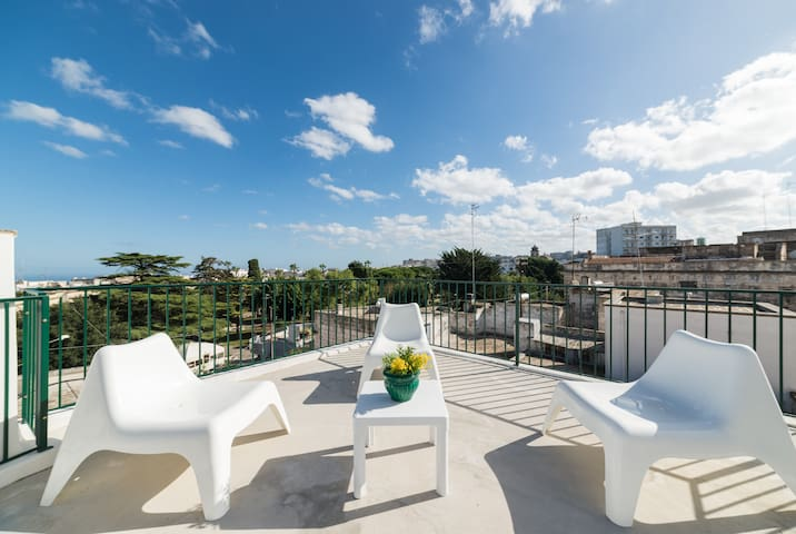 Blanca Terrace with panoramic view