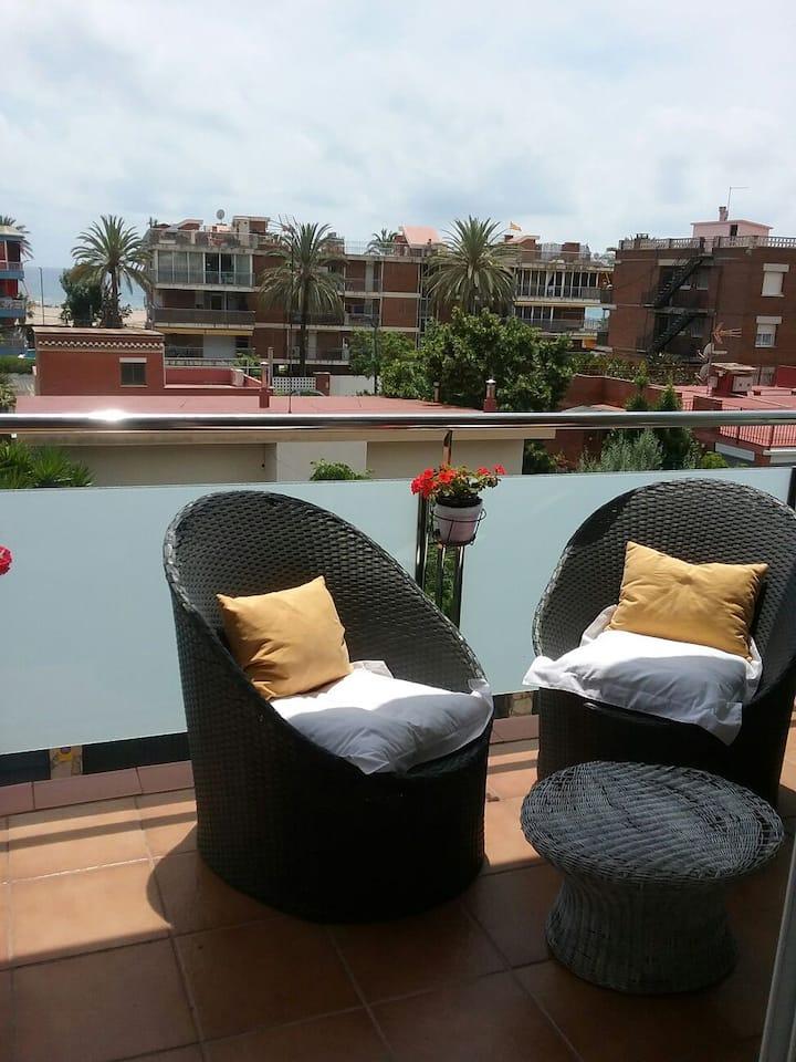 Villa Manuel con terraza