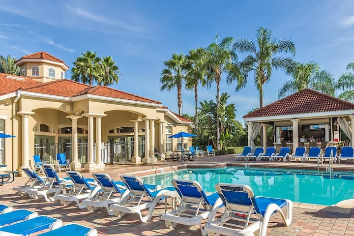 **20% OFF** 7BR-Pool Lux Resort- Disney World Area