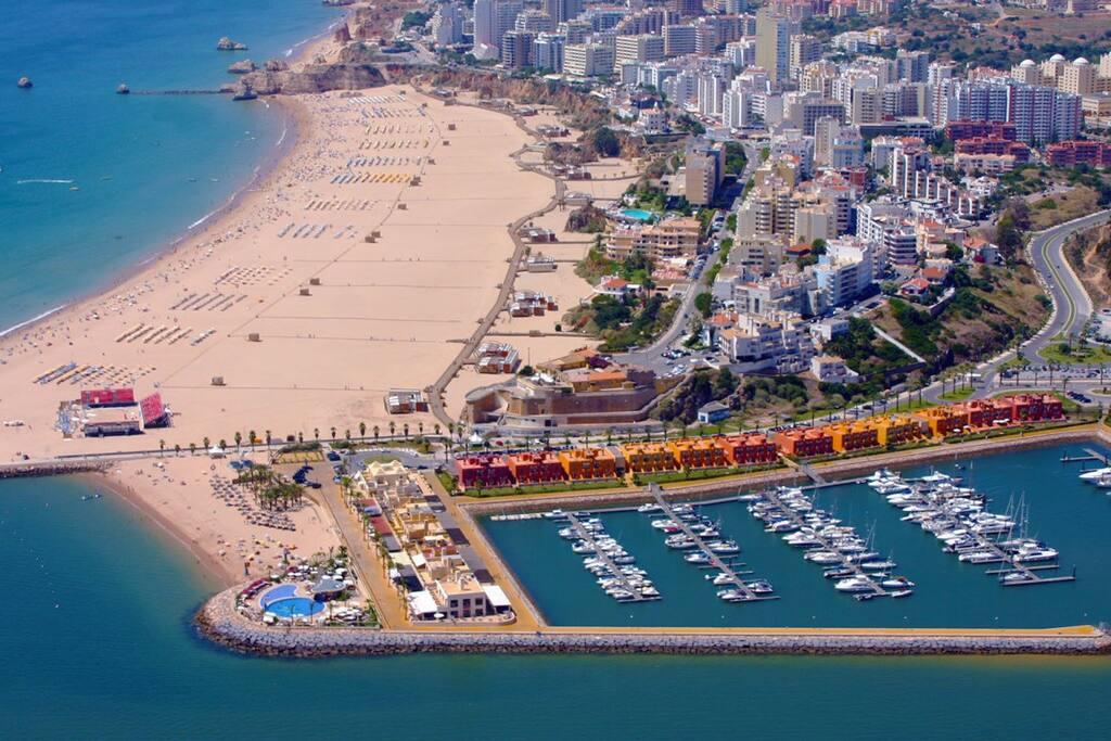 Marina de Portimao & Praia da Rocha