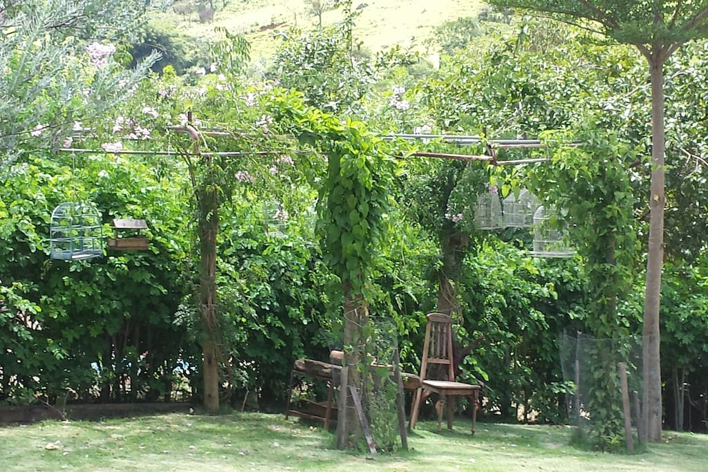 Cantinho toscano do jardim