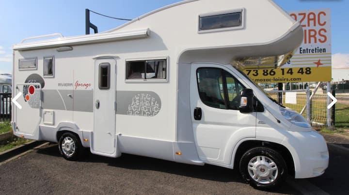Location camping-car fiat ducato