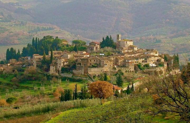 Luxury Apartment in Montefioralle/Greve in Chianti
