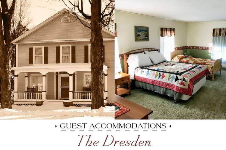 NEW Historic Village Charmer: Dresden Guest Room