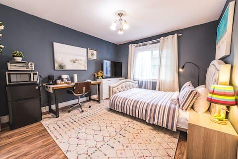 Cozy Luxury Private Studio for  travelers