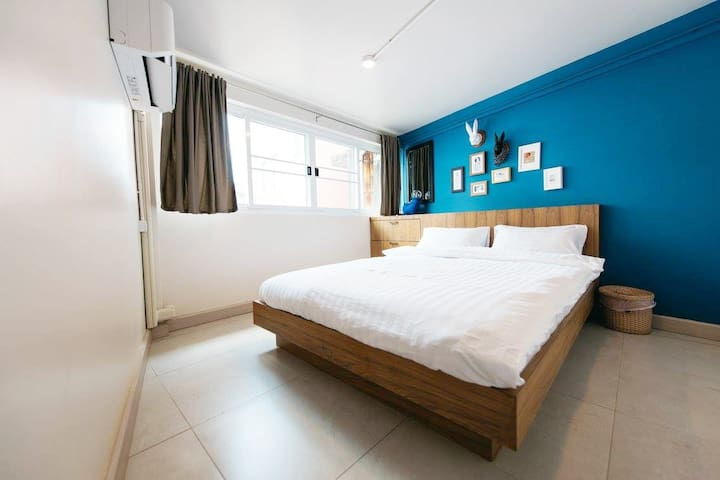 Double Room, Ploen Bangkok Hostel Khaosan