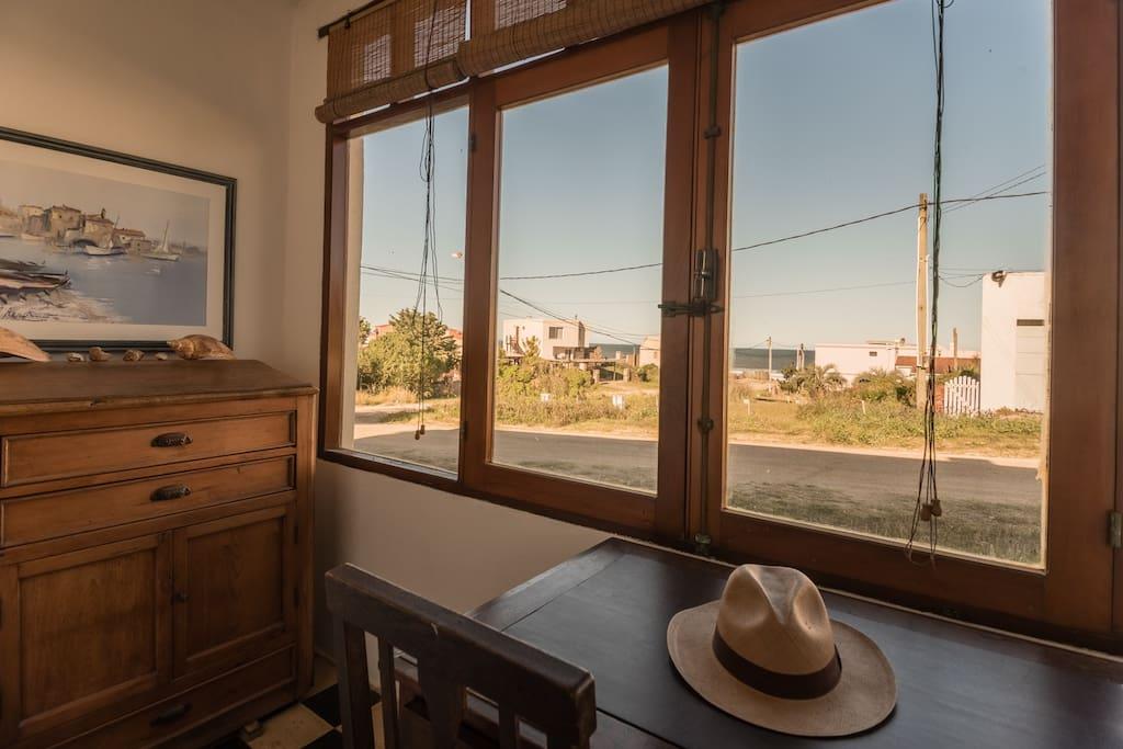 Vista desde el gran ventanal.