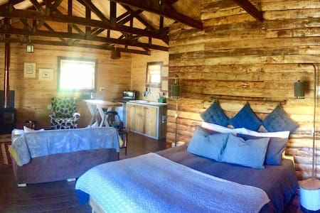 Camphor Cabin at Organic Origins
