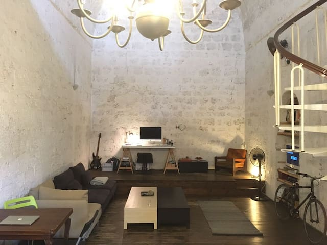 Unique Loft in Jaffa next to the beach - Tel Aviv-Yafo - Loft
