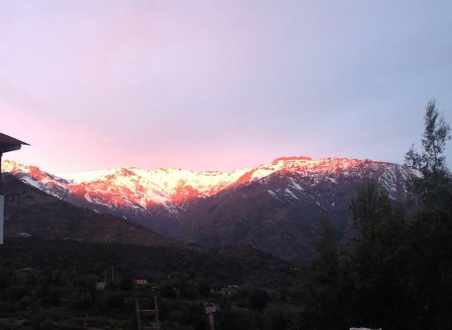 Montaña. San Francisco de Los Andes - Los Andes - Bed & Breakfast