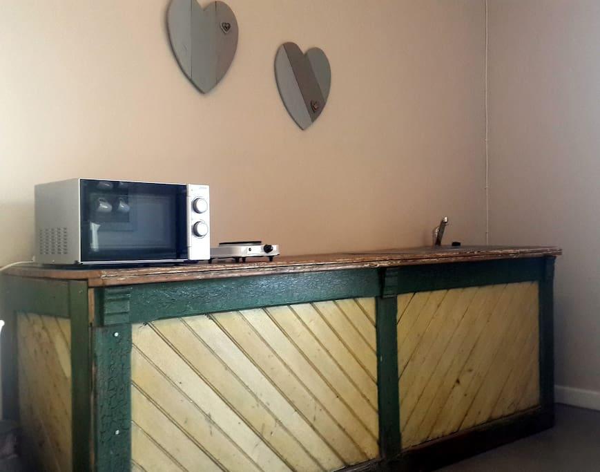 Frantoio Garden Room - Kitchenette