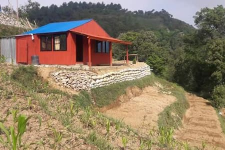 Quiet, peaceful and spacious mountain view hut