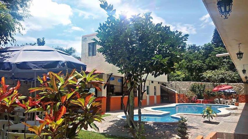 Habitación para 4 en Hotel Plateados, Oaxtepec