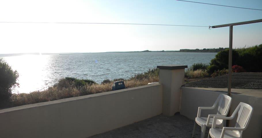 House on the lagoon, near the sea - 2
