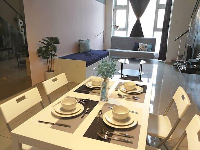 Modern Suite 6pax near Mid Valley - Kuala Lumpur - Apartament