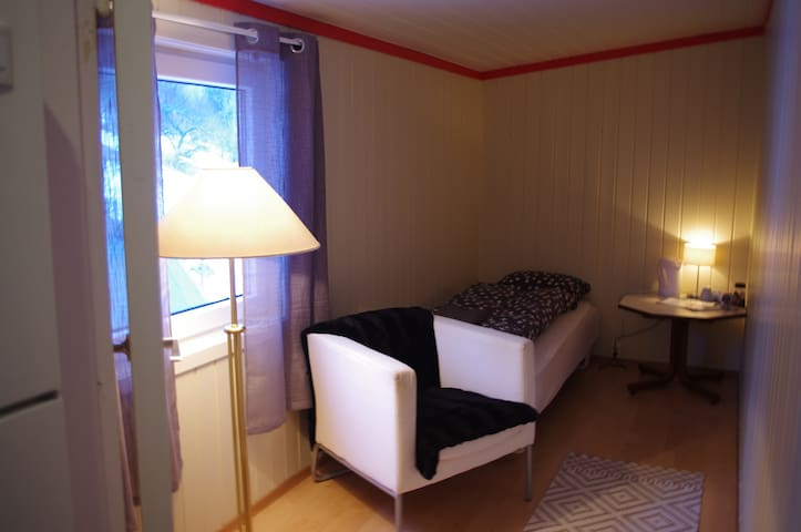 Strand bed and fishing Singel room