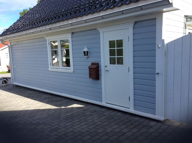 The little Blue House - Skien - Apartamento