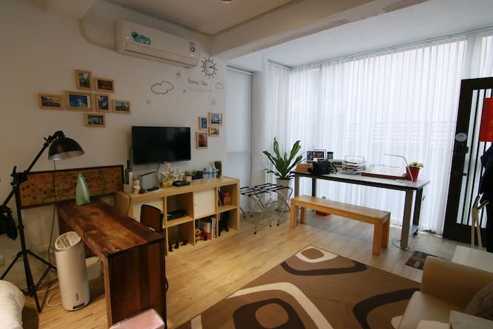 Joy house near to songshan airport - Songshan District