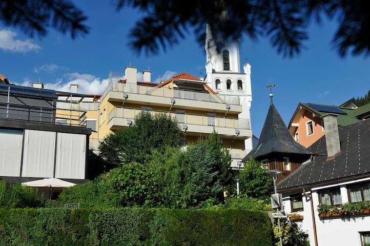 Ruhige Ferienwohnung im Zentrum von Schladming - Schladming - Apartemen