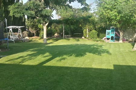 Beach House with Fantastic Garden in Beit Yannai - Beit Yanai