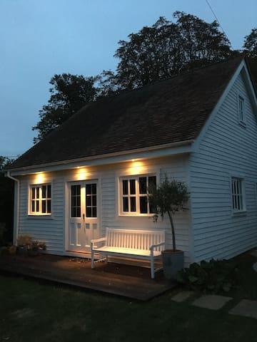 Summerhouse by night