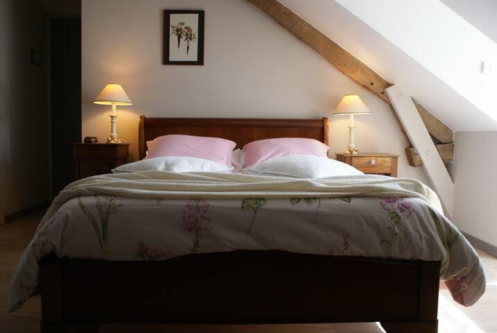 La chambre Macaron et son cadre cosy