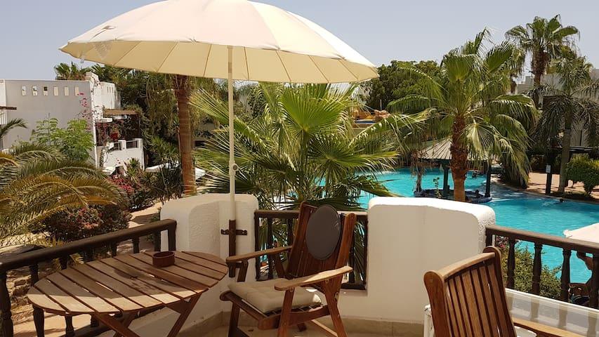 Stunning 2 Bedroom pool view FREE ADSL WIFI