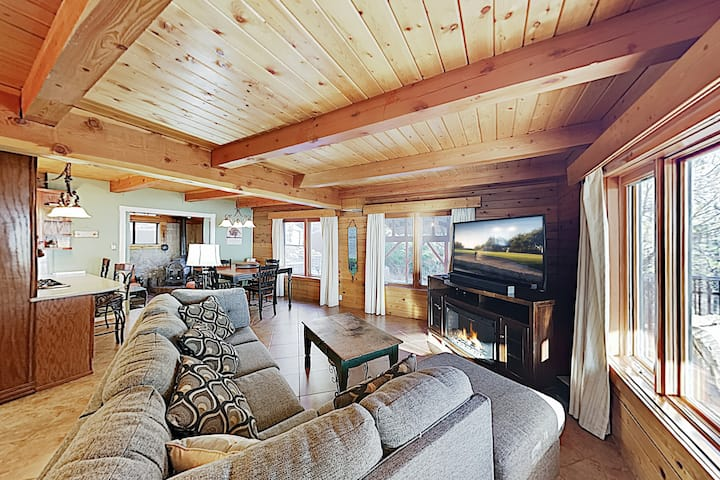 Expansive Haven w/ Fireplaces & Epic Game Room