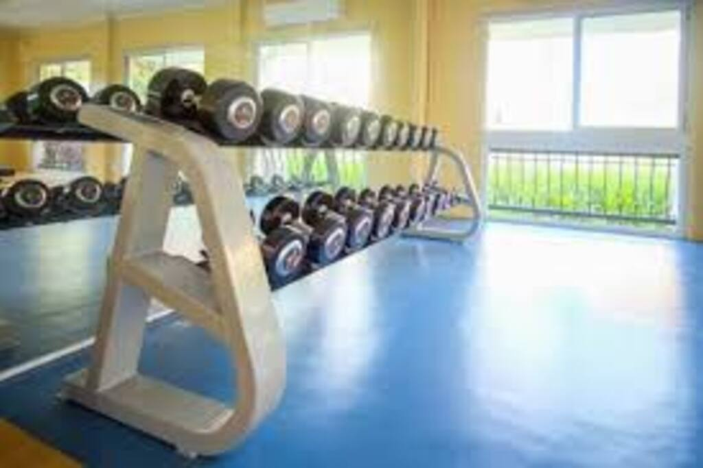this is the aircon gym which u can use,if u book my place