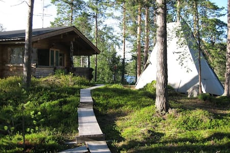 The White Blue Wilderness Lodge - Sommer - Inari