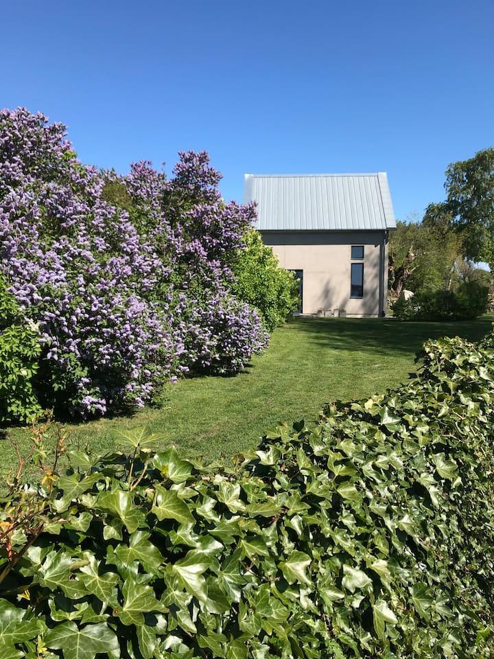 Garden house by the sea, Brantevik, Osterlen