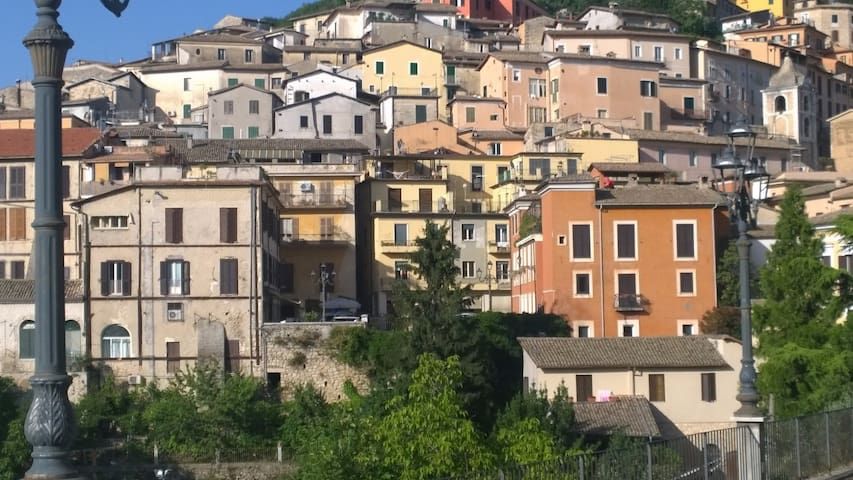 Charming Arpino home right near the town square