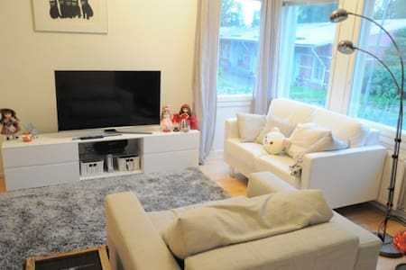 Semi-detached house, 15 min from Helsinki center - Appartement
