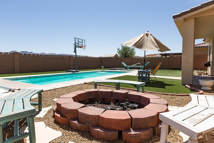 Sand Castle ~ Sand Hollow Area | Private Pool - 5 Bedroom
