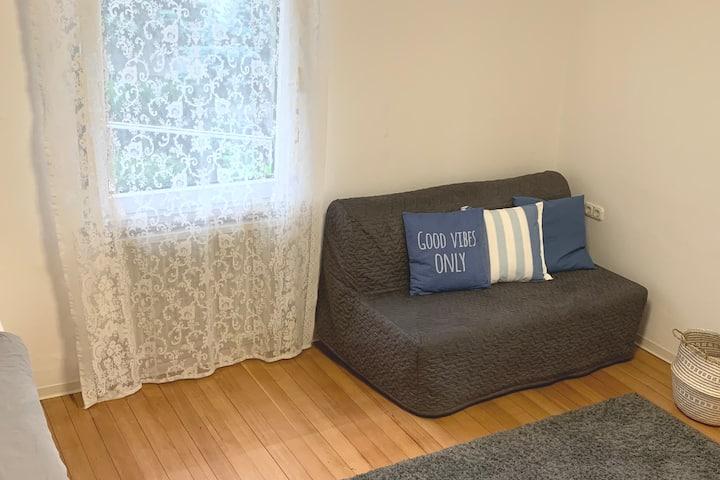 Gemütliches Zimmer 3, ruhiges wohnen mit Garten