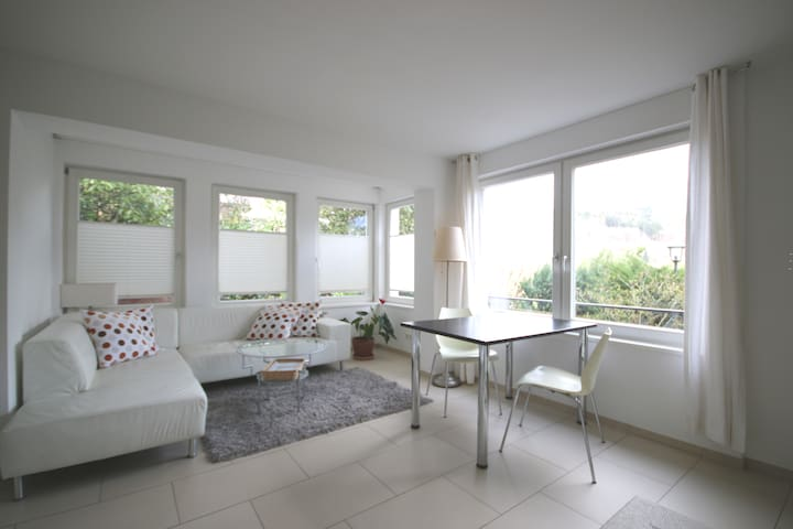 Bright and modern 1 bedroom apartment (45 sqm)