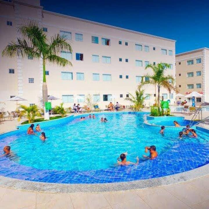 Resort Encontro das Águas em Caldas Novas - GO