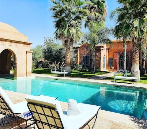 Luxueuse Villa: Jardin & Piscine sans vis à vis