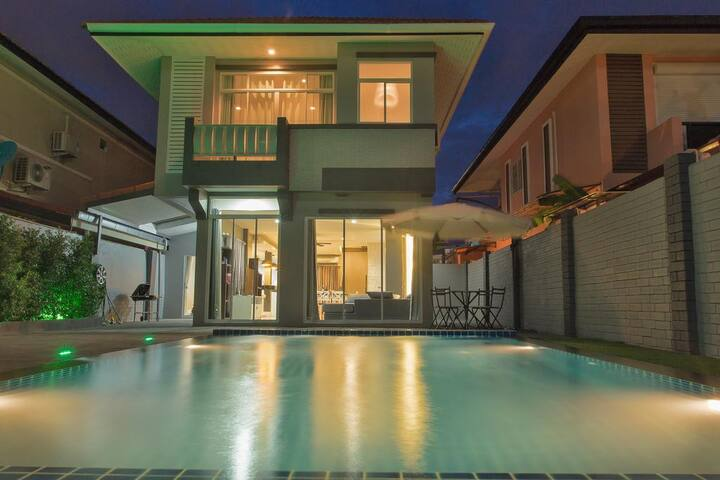 Villa 3 BRD with Private Pool near Walking Street