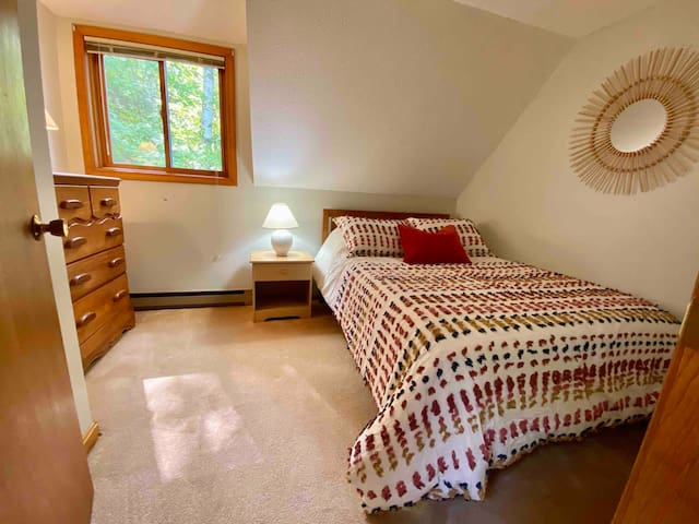 Bedroom 4 with double bed & great mattress.