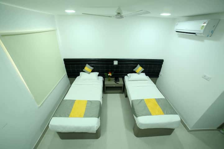 Modern,Spacious Rooms for Monthly Stay @ Novartis