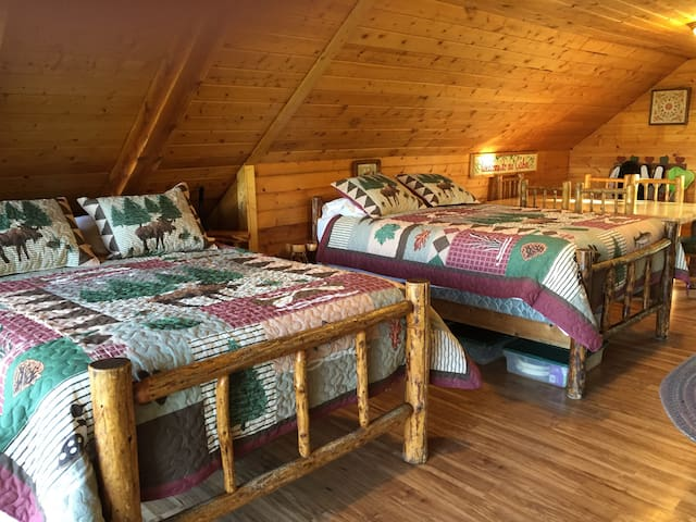 Cozy Valhalla cabin with amazing views