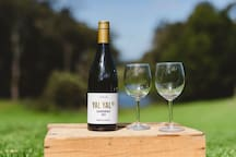 Enjoy the bounty from one of our local boutique vineyards