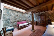 Cellar and double bedroom